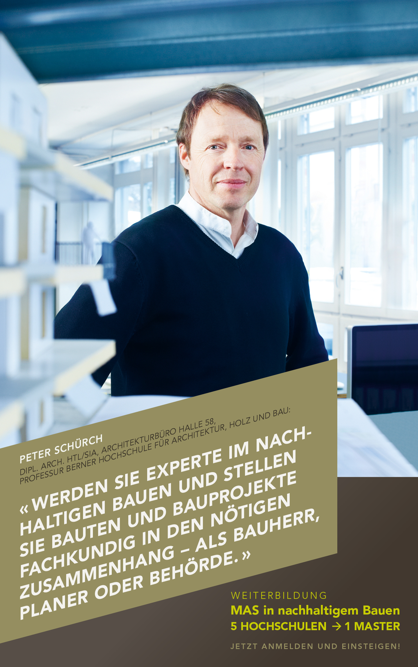Peter Schürch, Architekt